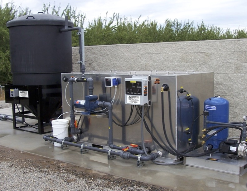 water treatment bio-digester